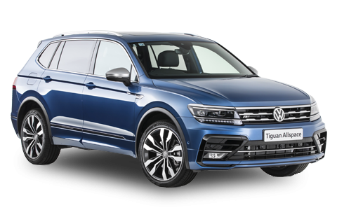 Volkswagen Tiguan in blue